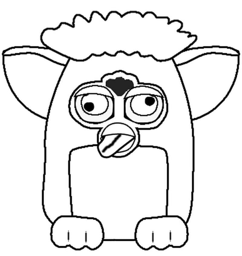 Crazy Furby