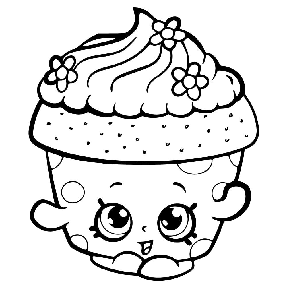 Cupcake Petal Shopkin