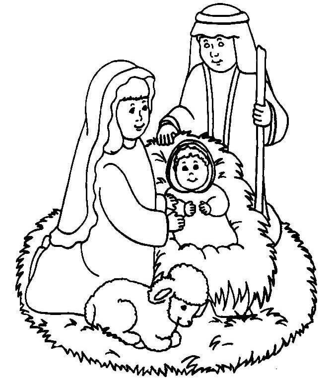 Cute Baby Jesus