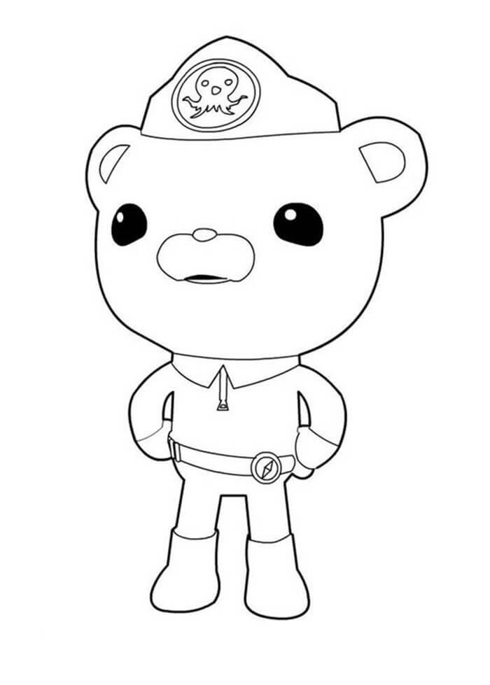 Cute Captain Barnacles