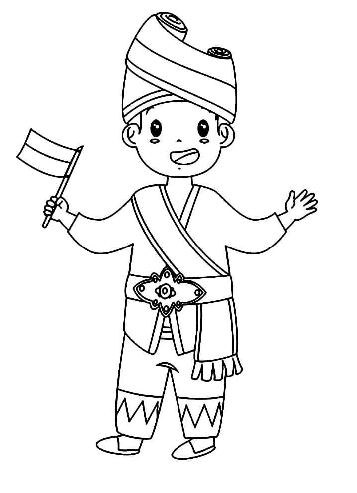 Cute Indonesian Boy