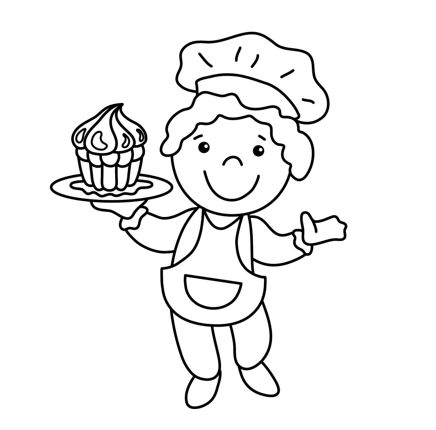 Cute Kid Chef