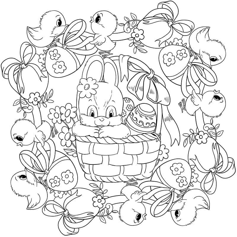 Cute Mandala Easter