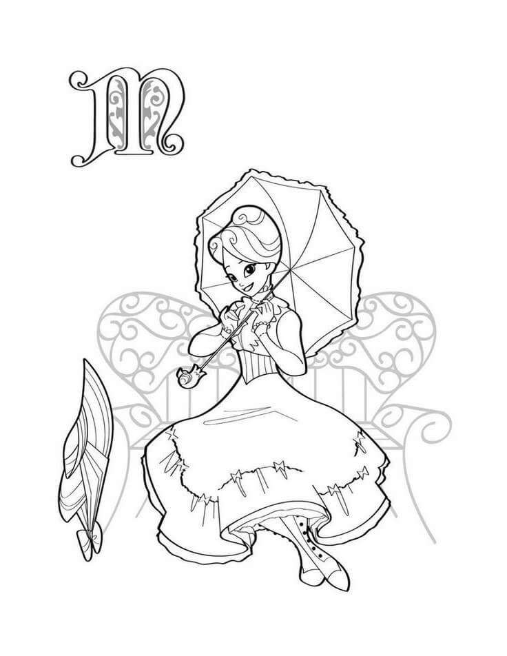 Cute Mary Poppins