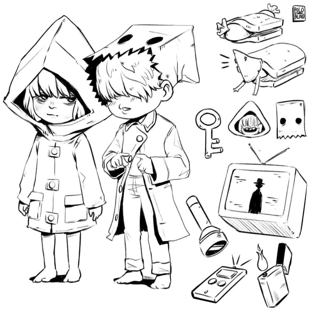 Cute Mono and Six