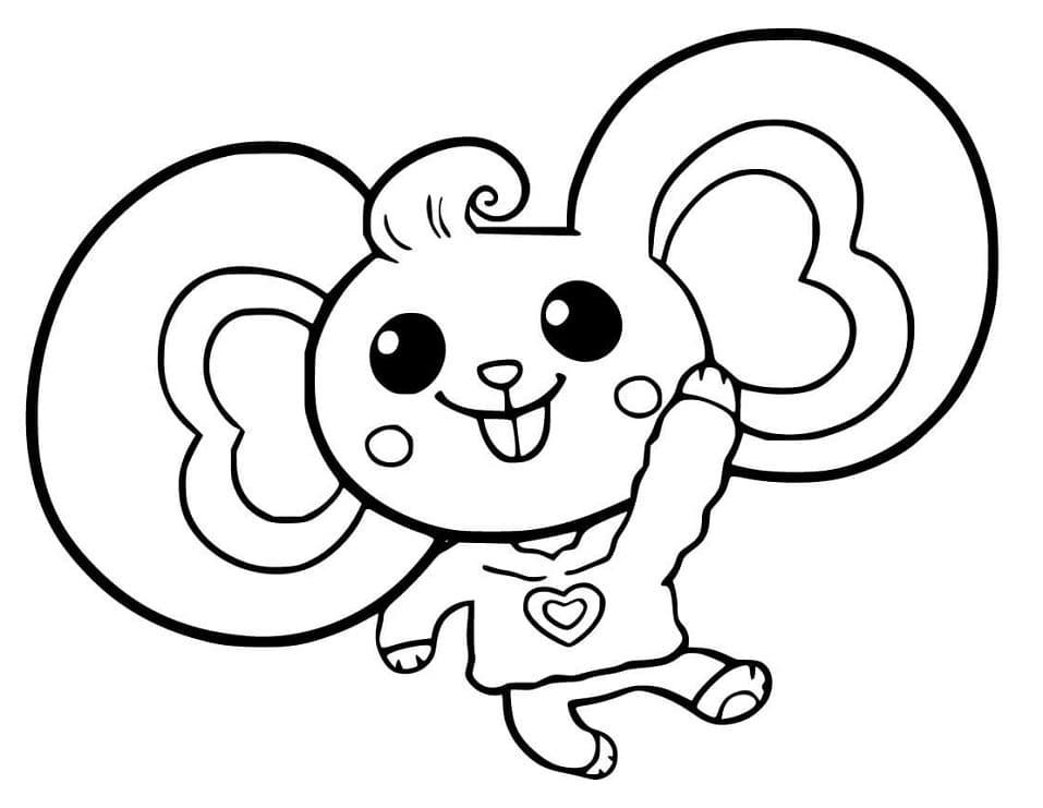 Cute Potato Mouse