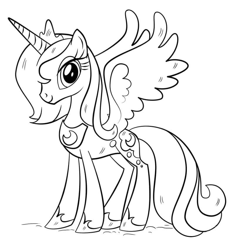Cute Princess Luna
