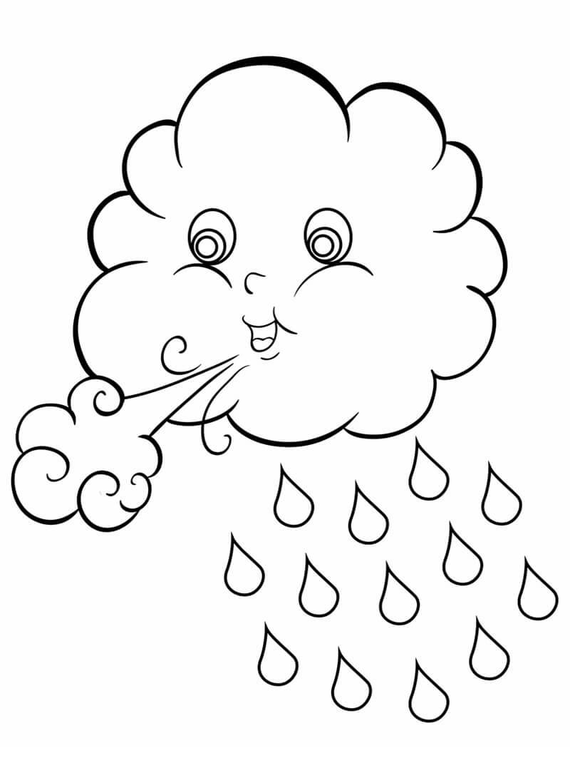 Cute Rain Cloud