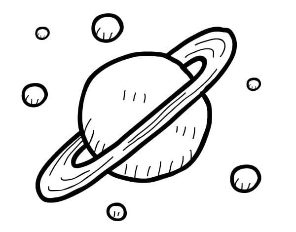 Cute Saturn