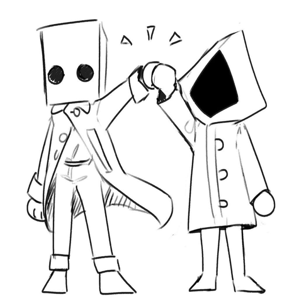 Cute Six and Mono