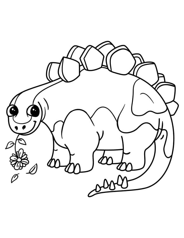 Cute Stegosaurus 1