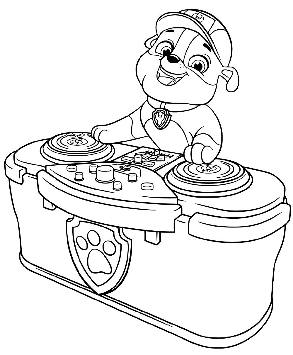 DJ Rubble
