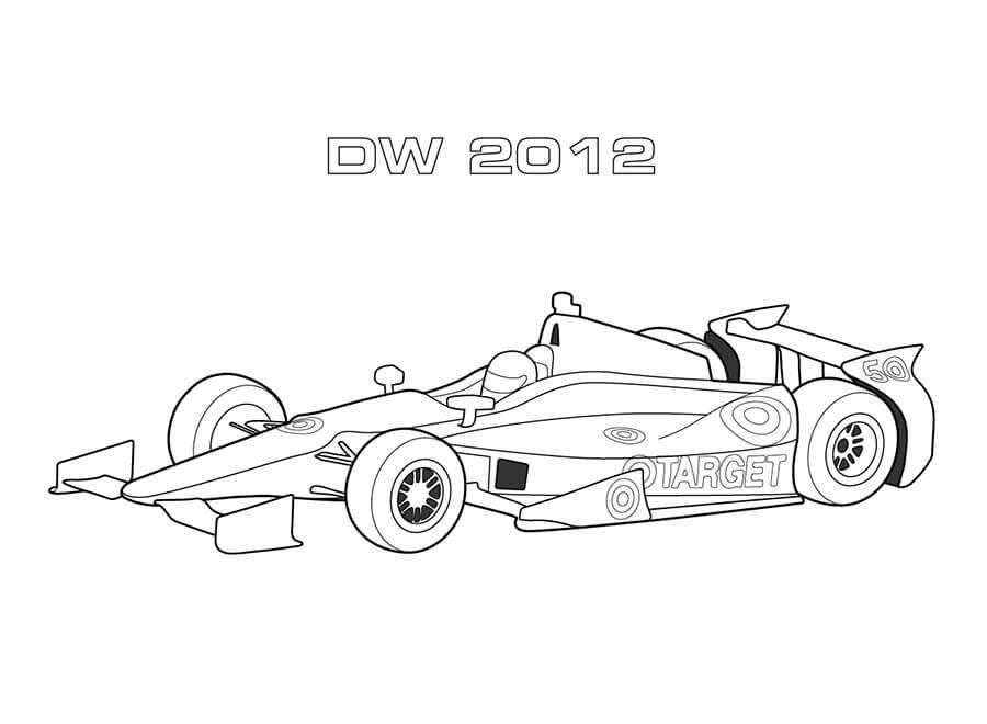 DW 2012 Race Car