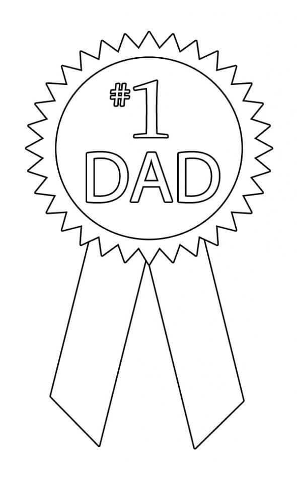Dad Ribbon