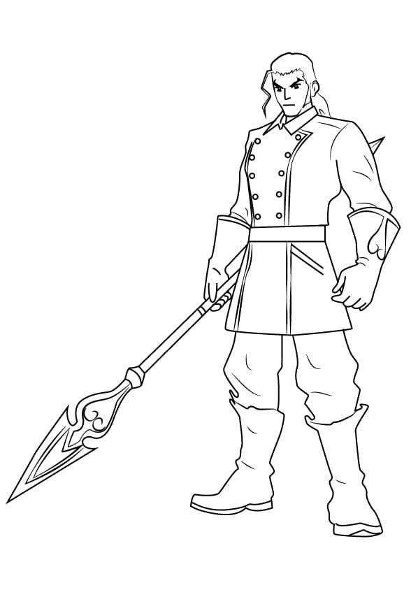 Dilan from Kingdom Hearts