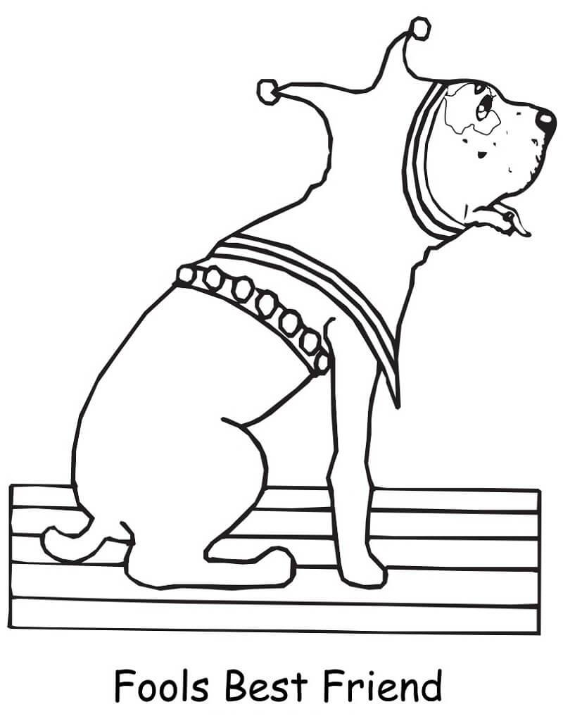 Dog April Fool's Day