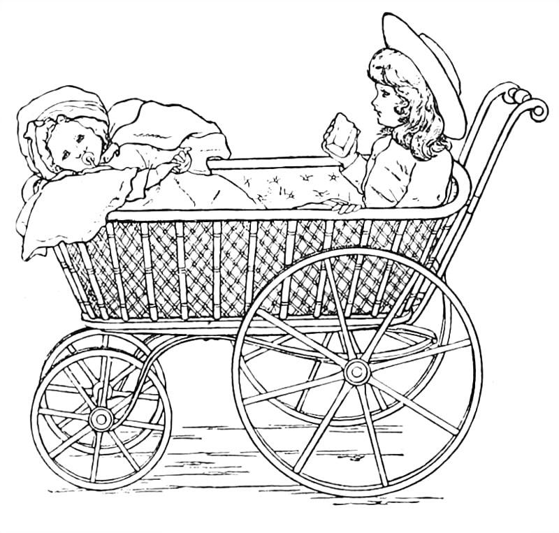 Dolls Stroller