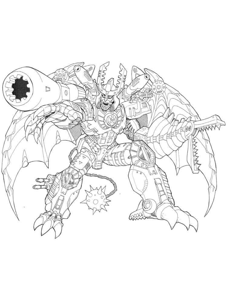 Dragon Form Megatron