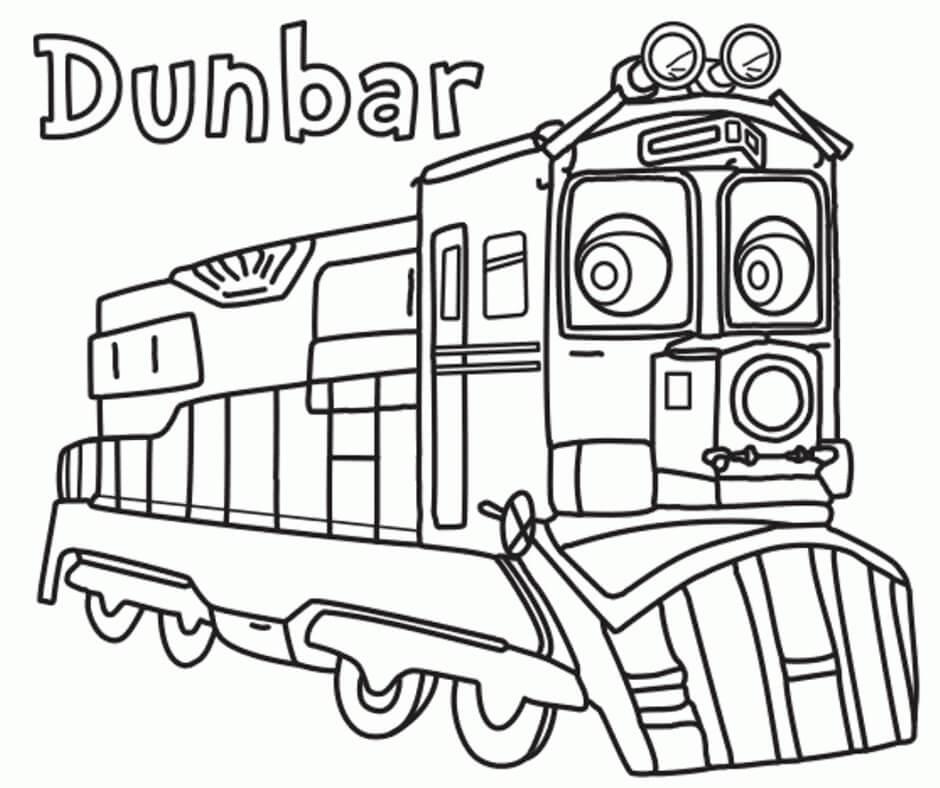 Dunbar from Chuggington