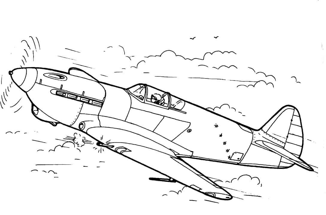 E-30 Fighter Jet