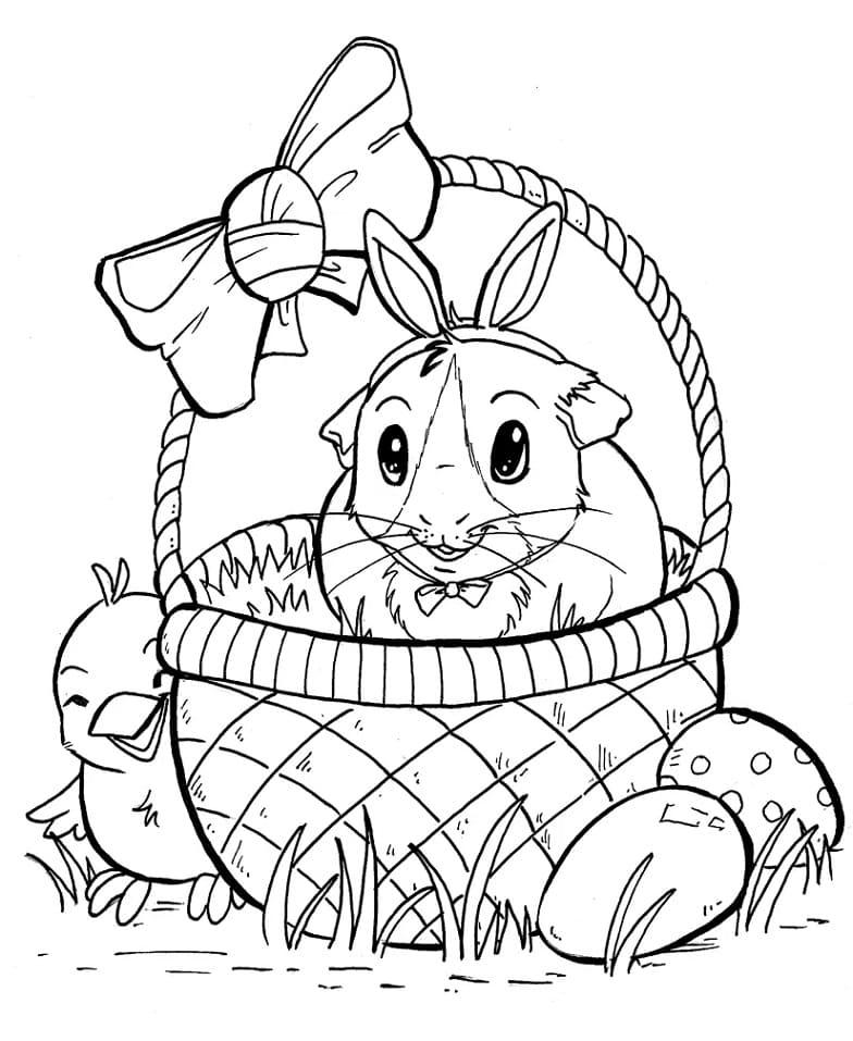 Easter Guinea Pig
