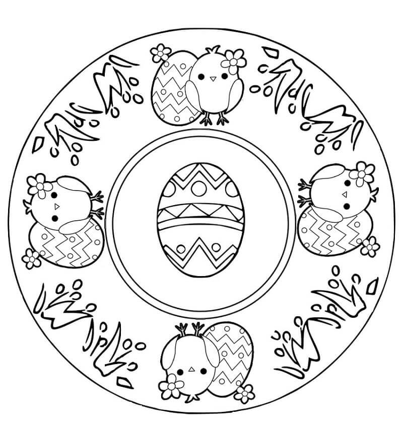 Easter Mandala 1