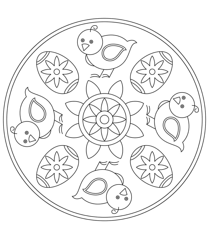 Easter Mandala 10