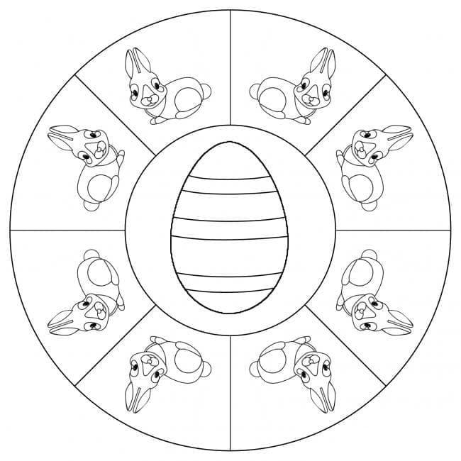 Easter Mandala 11