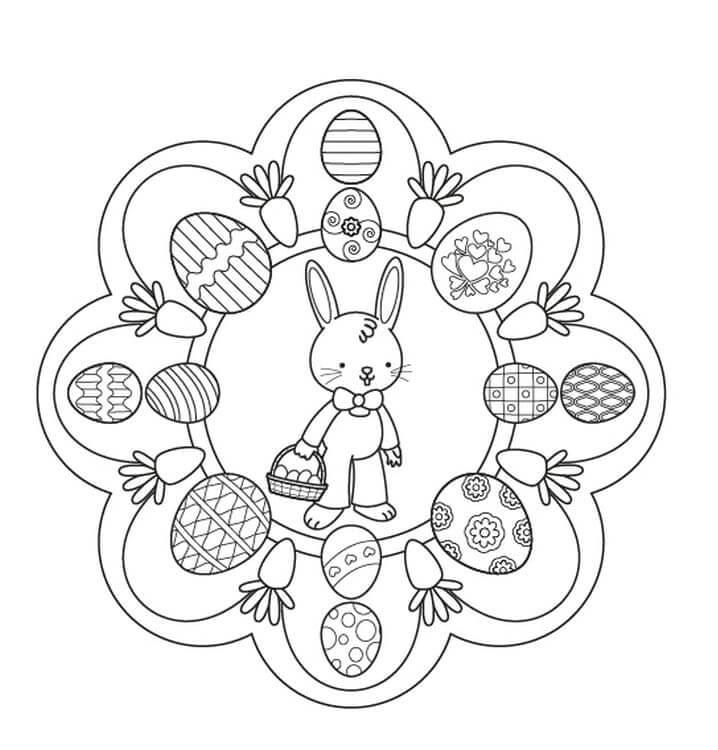 Easter Mandala 12