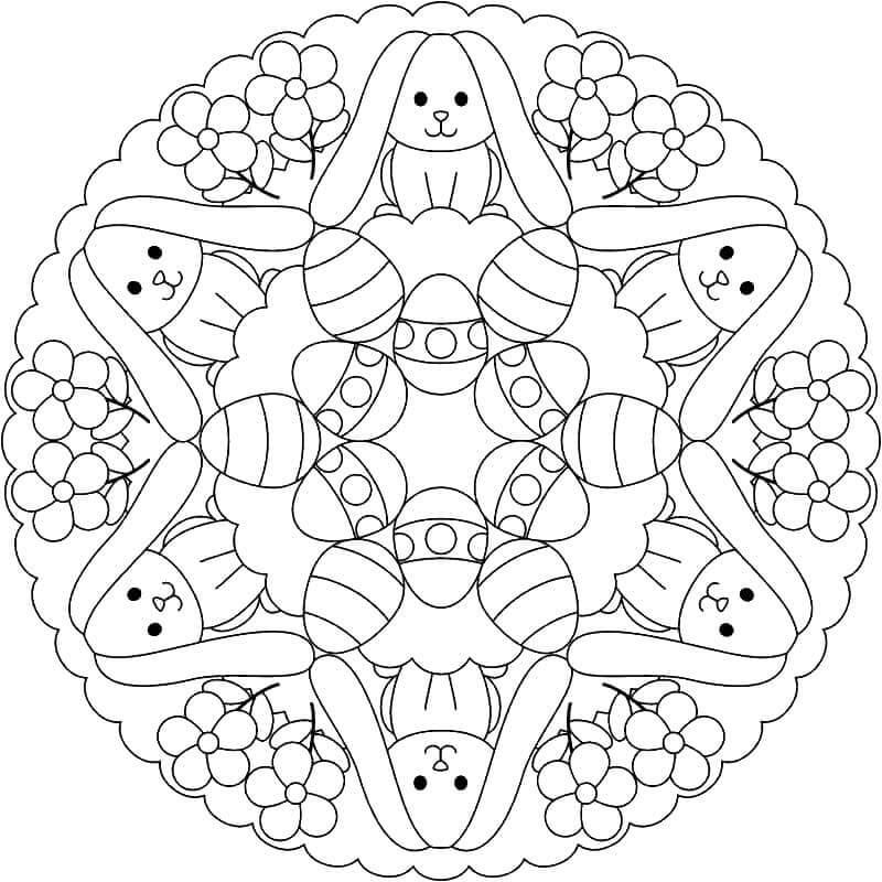 Easter Mandala 13