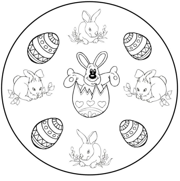 Easter Mandala 14