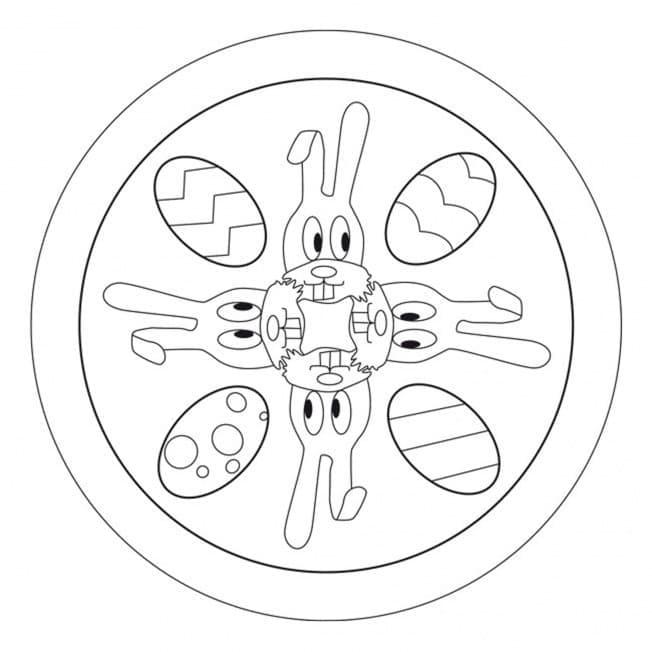 Easter Mandala 15