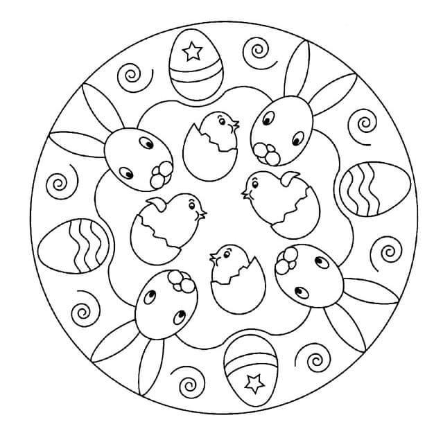 Easter Mandala 2