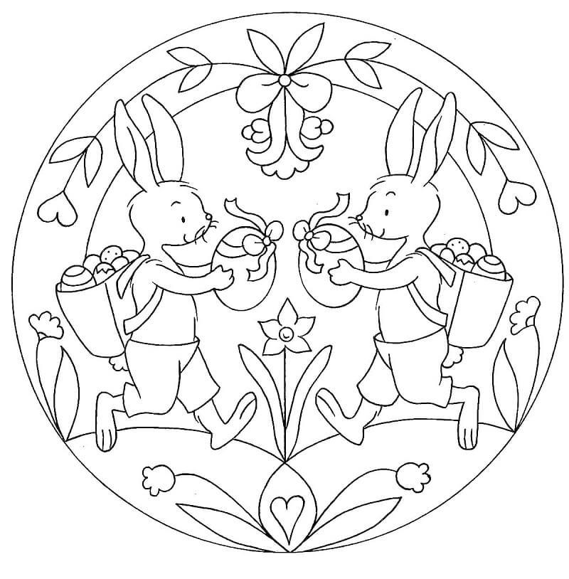 Easter Mandala 4