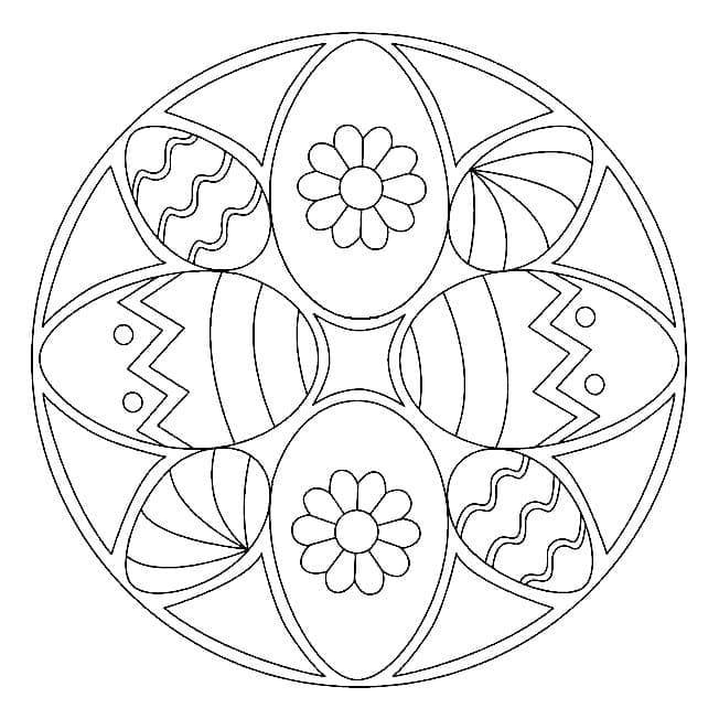 Easter Mandala 5