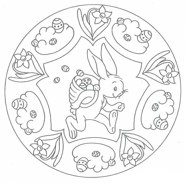 Easter Mandala 6