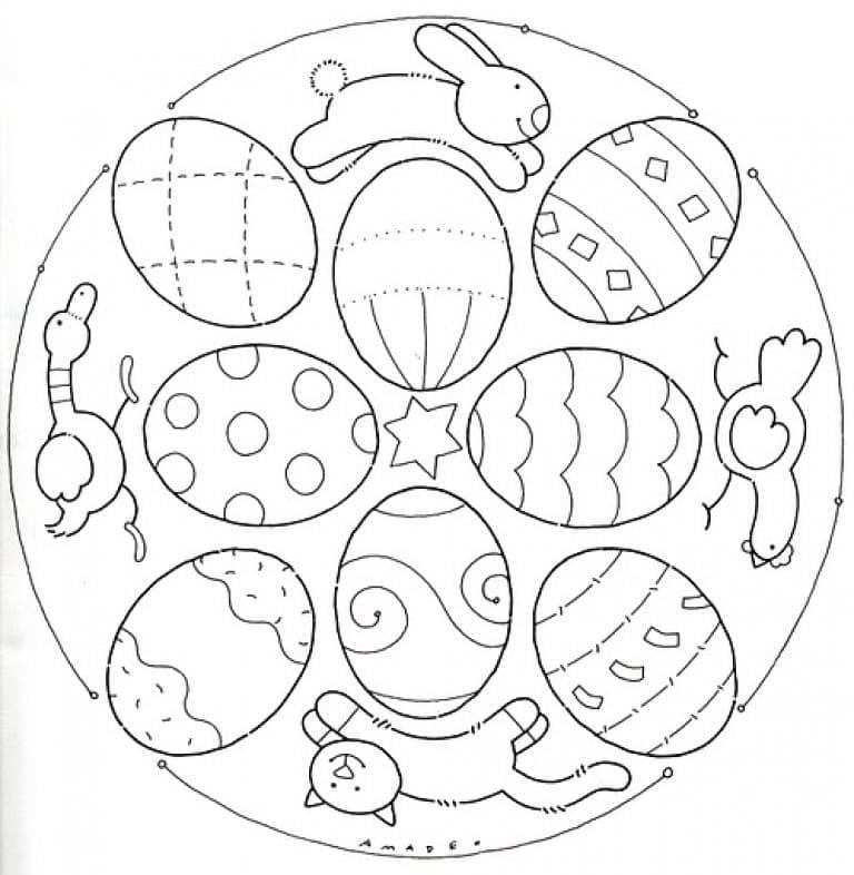 Easter Mandala 8