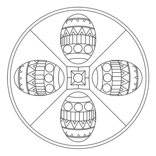 Easter Mandala 9