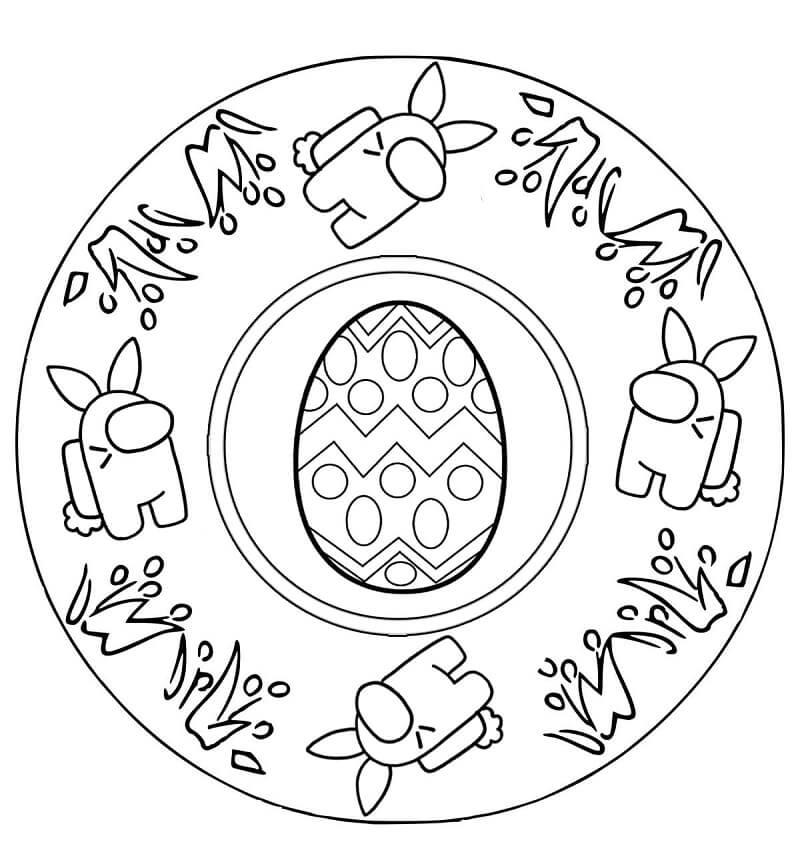 Easter Mandala Among Us