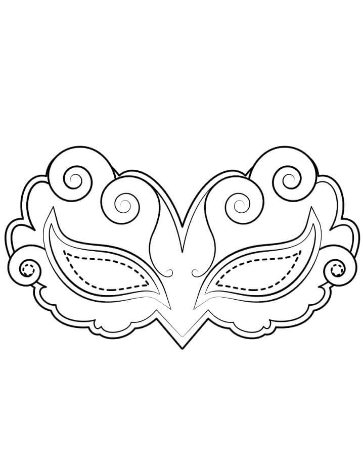 Elizabethan Mask Mardi Gras