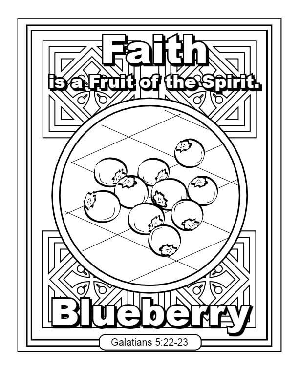 Faith Fruit of the Spirit