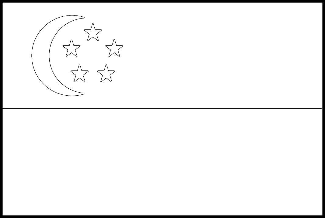Flag of Singapore 1