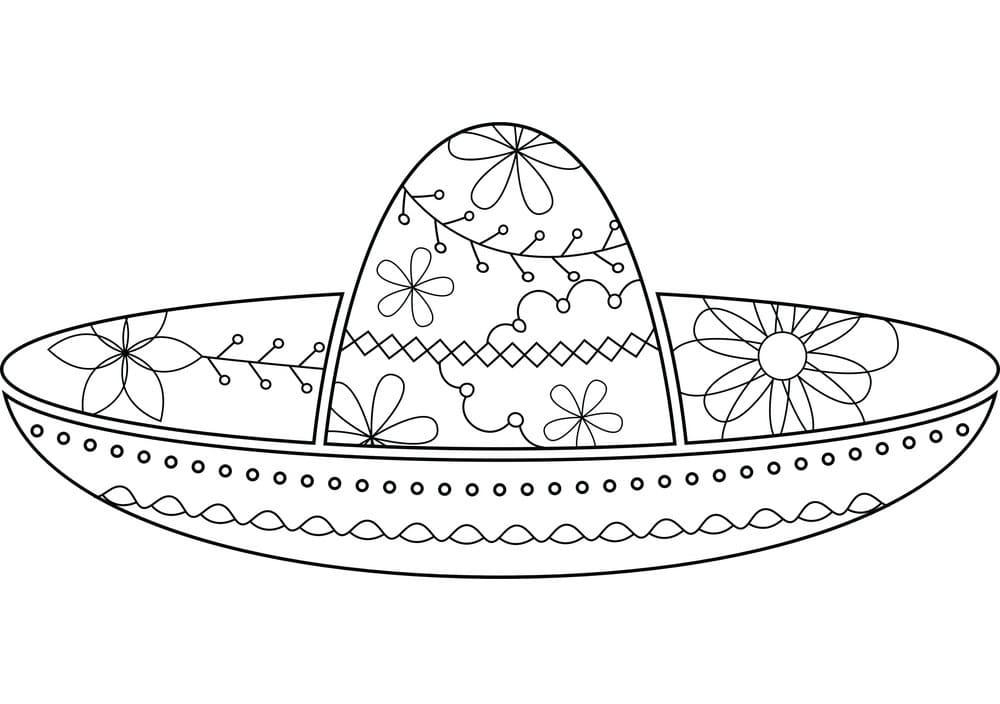 Flower Sombrero
