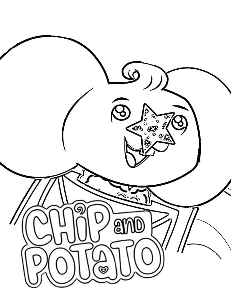 Funny Potato Mouse