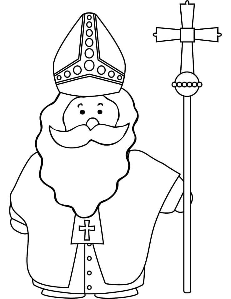 Funny Saint Nicholas