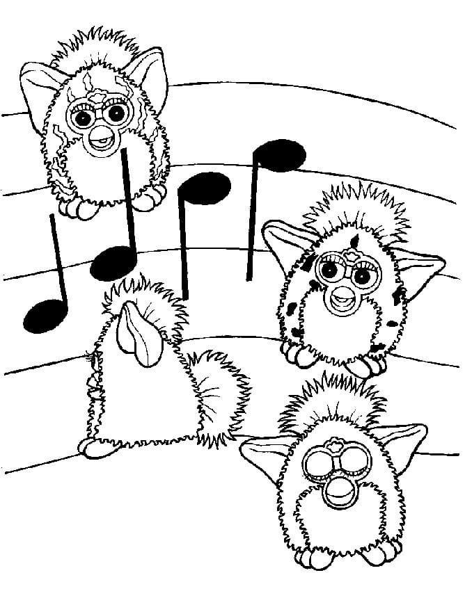 Furby Music