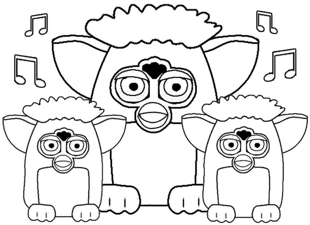 Furby Singing