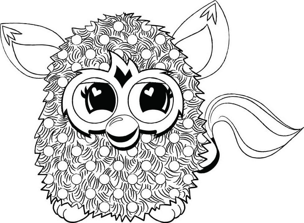 Furby Smiling