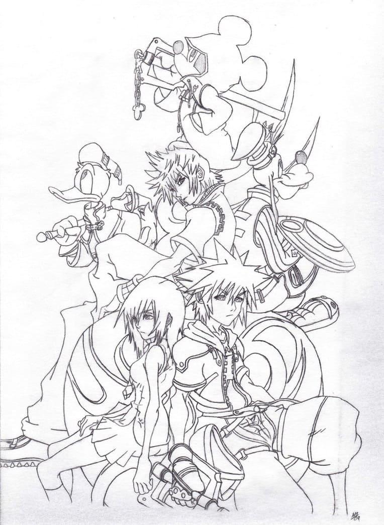 Game Kingdom Hearts