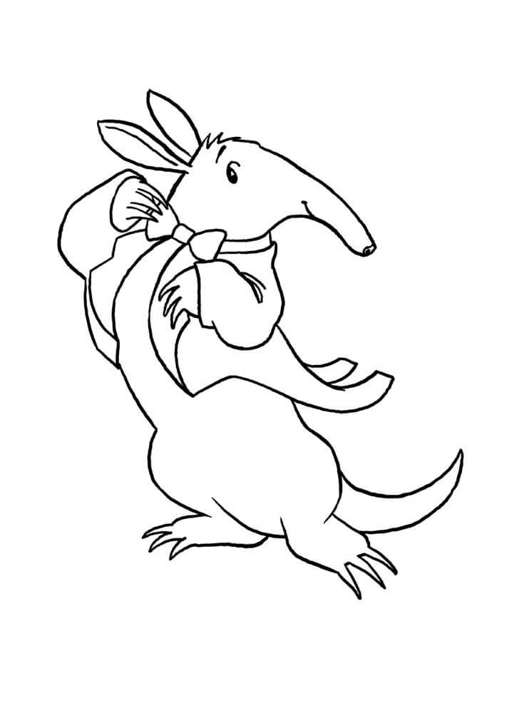 Gentle Aardvark